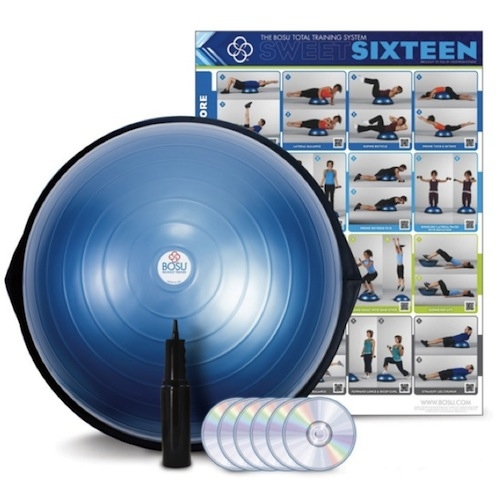 ◆BOSU◆ Balance Trainer Home Version _Blue/ バランストレーナー ホームバージョン ブルー