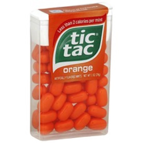 ティックタック オレンジ Tic Tac Orange 1oz(29g)1個