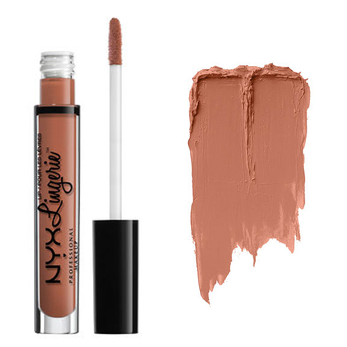 アメリカで人気のNYXコスメ ☆NYX☆Lingerie Liquid Lipstick 新色追加 NYX リキッド 高額売筋 RUFFLE TRIM ランジェリー リップスティック