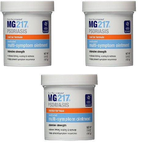 MG217 【お得な3個セット】コールタール配合 軟膏(107ml)MG217 Medicated Tar Ointment