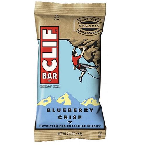 大豆由来のオーガニックプロテインバーClif Energy Bar, Blueberry Crisp クリフバー エナジー ブルーベリー 12 Bars