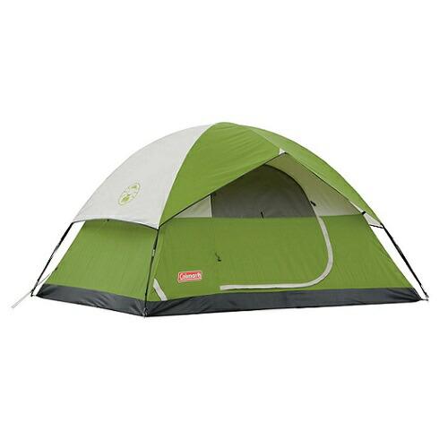 Coleman Sundome コールマン サンドーム シンプル テント 日本未発売モデル グリーン 4人用