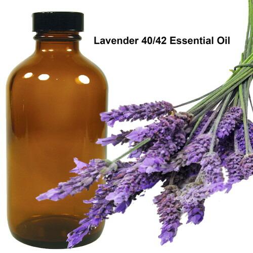業務用 お得サイズ エッセンシャルオイル 40/42 ラベンダー Lavender 40/42 Essential Oil 16oz / 473ml