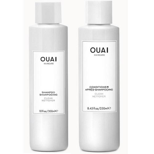 OUAI ウェ CLEAN SHAMPOO & CONDITIONER クリーンシャンプー&コンディショナー セット