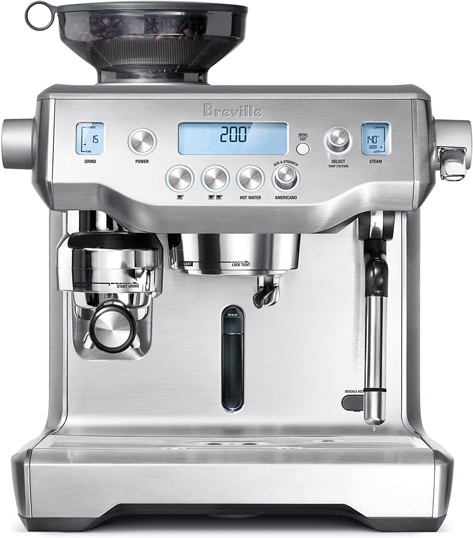 売り切れ必至! Breville Machine Oracle Espresso Machine BES980XL/ Espresso ブレビル エスプレッソマシン オラクル Breville [ステンレススチール], kissora:54121f3d --- fotostrba.sk