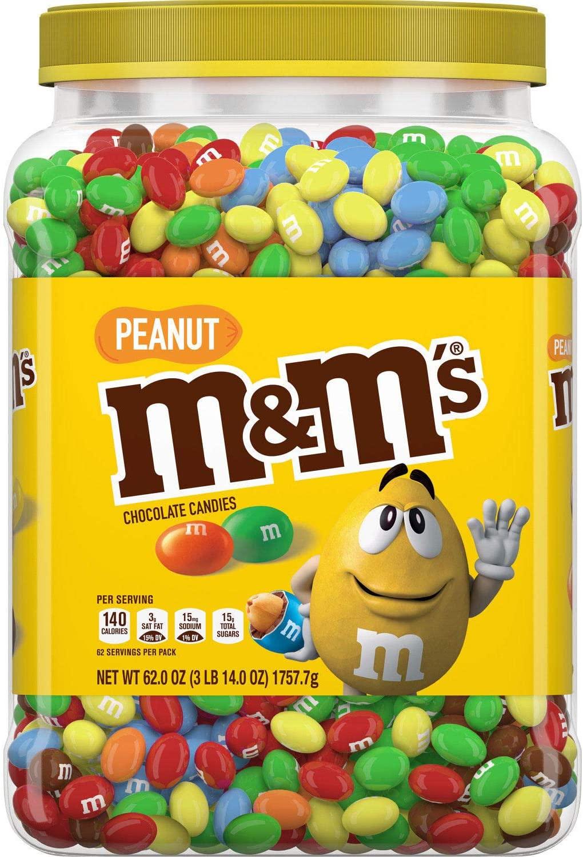 通信販売 たっぷり大容量 エムアンドエムズ ピーナッツ MM'S Peanut Chocolate Candy pantry 1.76kg パントリーサイズ oz Bag Size 62 お得なキャンペーンを実施中 ピーナッツチョコレート
