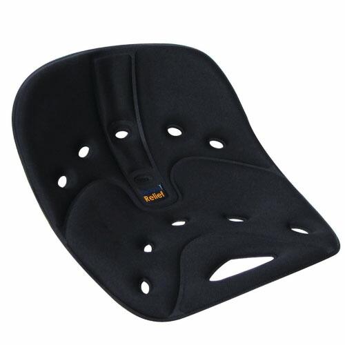 バックジョイ リリーフクッション/黒 BackJoy Relief Cushion/Black
