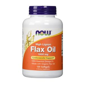 ハイ リグナン フラックス シード オイルは必須脂肪酸の新陳代謝をサポートするオメガ-3酸の素晴らしいベジタリアン源です NOW High Lignan Flax 5☆好評 フラックスシードオイル 120-Count Seed ナウ 安い Oil 送料込 #1780 1000mg