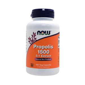 ミツバチがくれた天然の抗菌物質 NOW Propolis 1500 mg - 100 プロポリス Capsules 1500mg 送料込み 毎日続々入荷 セール商品 100カプセル ナウ #2540