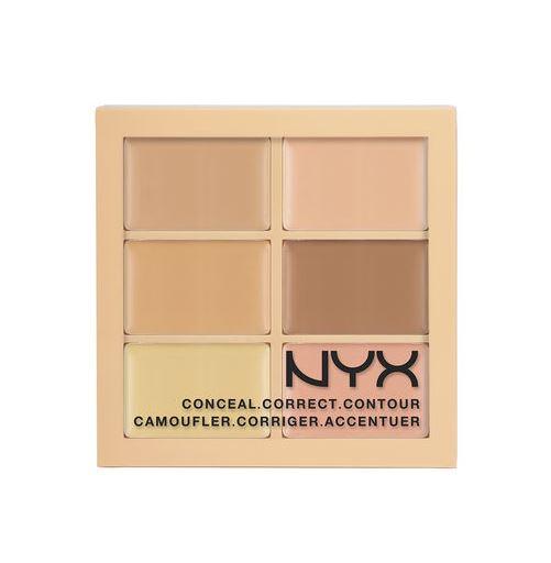 アメリカで人気のNYXコスメ スーパーセール期間限定 サービス NYX Conceal Correct Contour Palette カラーコレクティング 01 ライト コンシーラーパレット Light 色