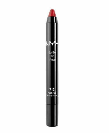 NYX Jumbo Lip Pencil /NYX ジャンポ リップペンシル 色[712 Plush Red プラッシュレッド]