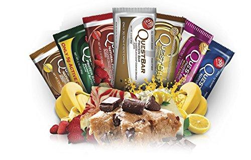 たっぷり36 本セット 1本60g 定番 プロテイン20g含有 大容量36本セット Quest Bar プロテインバー Protein パック クエストバー 激安☆超特価 バラエティ Nutrition