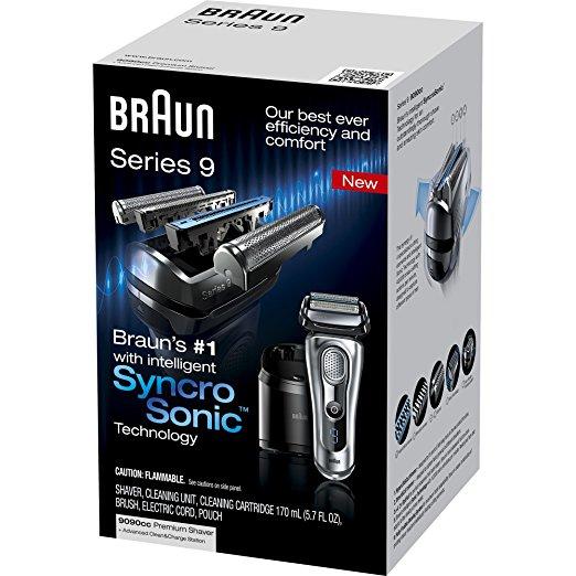 ブラウン メンズシェーバー シリーズ9 Braun Series 9 9090cc Electric Foil Shaver for Men