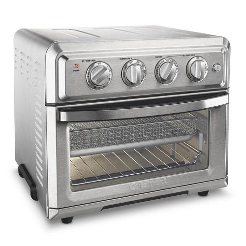 クイジナート TOA-60 エアフライヤー機能付きトースターオーブン Cuisinart TOA-60 Cuisinart Convection Toaster Oven Air Fryer, Silver