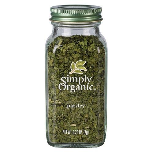 USDA認定オーガニックのシーズニング Simply Organic 塩 開店祝い 買取 無添加 送料無料 7g パセリフレーク シンプリーオーガニック Parsley Certified Flakes