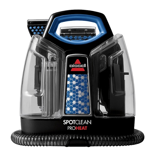 【プロ用洗剤セット】ニューモデル 5207F Spot Clean ポータブル カーペット クリーナー Bissell & Professional Spot and Stain Plus Oxy セット【収納に便利なスリムデザイン】