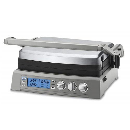 クイジナート GR-300WS エリートグリドル Cuisinart GR-300WS Griddler Elite Grill, Stainless Steel
