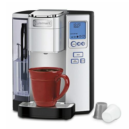 クイジナート SS-10 プレミアム シングルサーブ コーヒーメーカー K-Cup対応 Cuisinart SS-10 Premium Single-Serve Coffeemaker