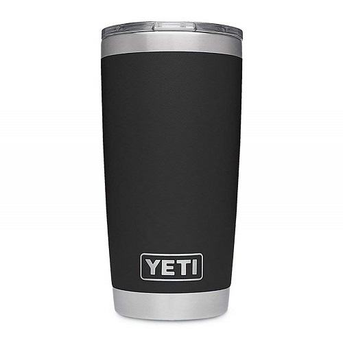 イエティ ランブラー 20oz タンブラー ブラック YETI Rambler 20 oz Stainless Steel Vacuum Insulated Tumbler  Black