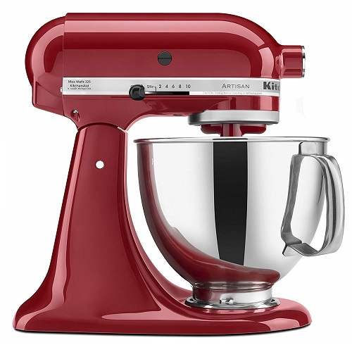 キッチンエイド KSM150PSER ティルトヘッド ミキサー 4.7リットル KitchenAid KSM150PSER Artisan Tilt-Head Stand Mixer with Pouring Shield, 5-Quart