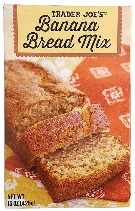 大人気トレーダージョーズ!材料3つを入れて焼くだけ! Trader Joe's Banana Bread Mix 15oz / トレーダージョーズ バナナブレッド ミックス 425g