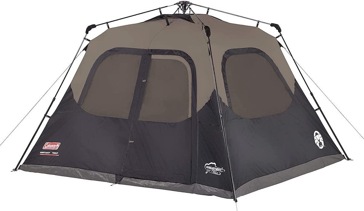 Coleman 6-Person Instant Cabin Black / コールマン 6人用 ドームテント インスタント キャビンブラック 2000018017