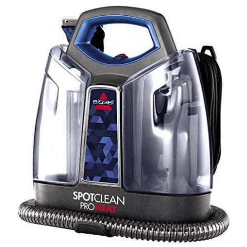 カーペットの掃除に! 【ペット用洗剤セット】ニューモデル 2694, Blue Spot Clean ポータブル カーペット クリーナー Bissell  2X Pet Stain セット【収納に便利なスリムデザイン】