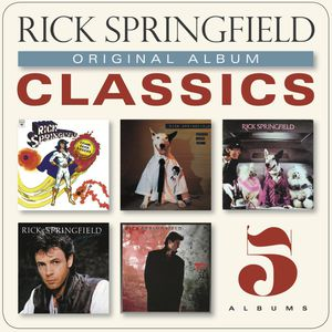 Rick Springfield / Original Album Classics (Box) (수입반CD)(릭크・스프링 필드)