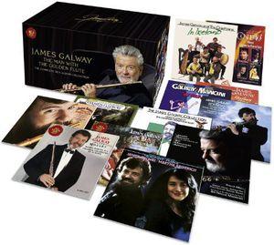 【送料無料】James Galway / Complete RCA Album Collection (w/DVD) (Box) (輸入盤CD)( ジェームス・ガルウェイ)