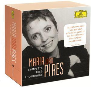 【送料無料】Maria Joao Pires / Complete Dg Solo Recordings(Boxed Set, 20PC) (輸入盤CD)