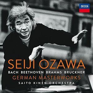 【送料無料】Seiji Ozawa / German Masterworks (輸入盤CD)(小澤征爾)