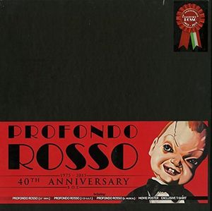 【送料無料】Soundtrack / Profondo Rosso: 40th Anniversary Box (輸入盤CD)(サウンドトラック)