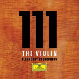 【輸入盤CD】【送料無料】VA / 111 The Violin: Legendary Recordings 【K2016/8/5発売】