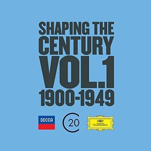 【送料無料】VA / Shaping The Century (1900-1950) 1 (Limited Edition) (輸入盤CD)【K2016/11/18発売】