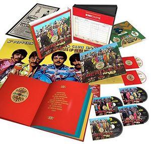 【輸入盤CD】【送料無料】Beatles / Sgt Pepper's Lonely Hearts Club Band (50th Anniversary Edition) (w/DVD) (w/Blu-ray)【K2017/5/26発売】(ビートルズ)