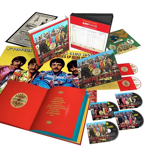 Beatles / Sargent pepper Ron Lee Hertz club band (supermarket Deluxe Edition) [4SHM-CD+Blu-ray+DVD/ complete production-limited board] (CD)