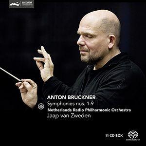【輸入盤CD】Bruckner/Netherlands Radio Philharmonic / Bruckner: Symphonies Nos. 1-9 (Box) (SACD)【K2016/10/28発売】