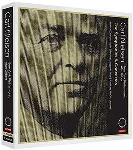 【輸入盤CD】Nielsen/Gilbert/New York Philharmonic / Symphonies & Concertos (SACD)