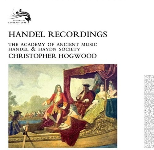 【輸入盤CD】【送料無料】Christopher Hogwood / Handel Recordings【K2017/5/12発売】