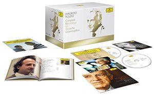 【送料無料】Maurizio Pollini / Complete Recordings On Deutsche Grammophon (w/DVD) (輸入盤CD)【K2016/11/18発売】