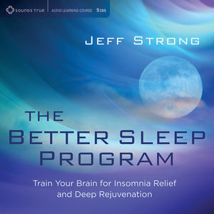 【送料無料】Jeff Strong / Better Sleep Program: Train Your Brain For Insomni (輸入盤CD)【K2016/7/29発売】