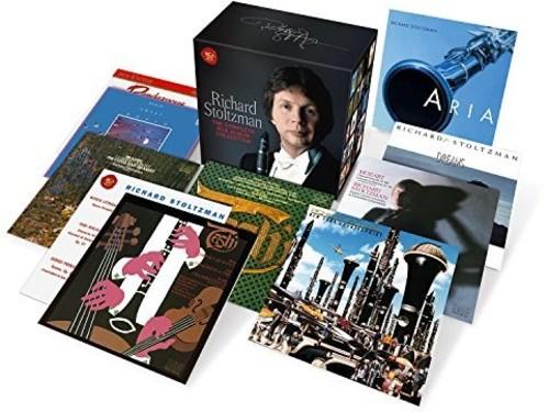 【送料無料】Beethoven/Brahms/Stravinsky/Stoltzman / Richard Stoltzman: Complete Album Collection (Box) (輸入盤CD)【K2017/5/5発売】