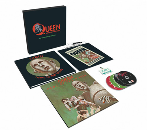 【送料無料】Queen / News Of The World - 40th Anniversary Box Set (w/LP) (輸入盤CD)【K2017/11/17発売】(クイーン)
