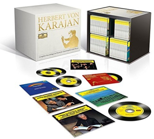 【輸入盤CD】Herbert Von Karajan / Complete Recordings On Deutsche Grammophon & Decca 【K2017/12/8発売】(ヘルベルト・フォン・カラヤン)
