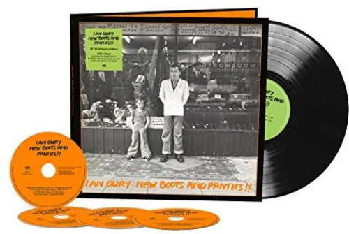 【輸入盤CD】Ian Dury / New Boots & Panties: 40th Anniversary Edition 【K2017/11/3発売】