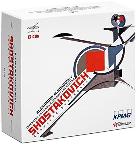 【送料無料】Shostakovich/Sladkovsky / Complete Symphonies (輸入盤CD)【K2018/1/5発売】(アレクサンドル・スラドコフスキー)