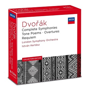 【送料無料】Dvorak/Kertesz/London Symphony Orchestra / Complete Symphonies/Tone Poems/Overtures & (輸入盤CD)【★】