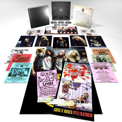 【送料無料】Guns N Roses / Appetite For Destruction (w/Blu-ray Audio) (Box) (Deluxe Edition) (輸入盤CD)【K2018/6/29発売】(ガンズ・アンド・ローゼズ)