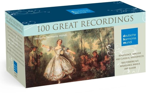 【送料無料】VA / Deutsche Harmonia Mundi: 100 Great Recordings (輸入盤CD)【K2017/12/8発売】
