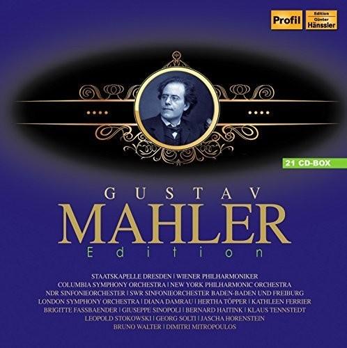 【送料無料】G. Mahler/Columbia Symphony Orchestra / Gustav Mahler Edition (輸入盤CD)【K2016/6/10発売】